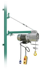 Wciagarka budowlana elektryczna linowa Imer BE 200