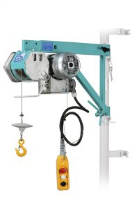 Electric wire rope winch Imer TR 200N VK