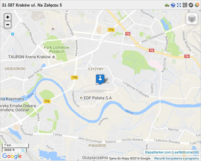 Mapa dojazdu - Lambor